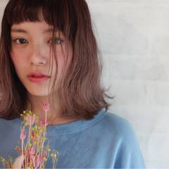 グラデーションカラー ミディアム 外国人風 ストリート ヘアスタイルや髪型の写真・画像