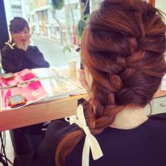 ストリート 夏 モテ髪 ヘアアレンジ ヘアスタイルや髪型の写真・画像