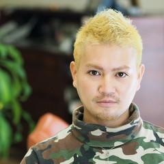 外国人風 ボーイッシュ ストリート メンズ ヘアスタイルや髪型の写真・画像