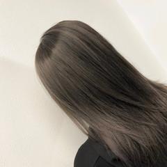 外国人風 外国人風カラー バレイヤージュ ストリート ヘアスタイルや髪型の写真・画像