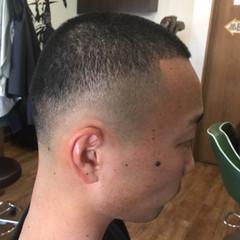 坊主 ショート 黒髪 ストリート ヘアスタイルや髪型の写真・画像