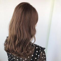 バレイヤージュ セミロング 髪質改善 髪質改善トリートメント ヘアスタイルや髪型の写真・画像