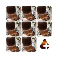 ミディアム 美髪 頭皮ケア トリートメント ヘアスタイルや髪型の写真・画像