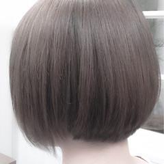 ストリート ダブルカラー 春 グレージュ ヘアスタイルや髪型の写真・画像