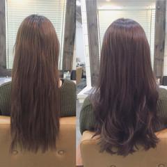 ブルージュ ロング 暗髪 パーマ ヘアスタイルや髪型の写真・画像