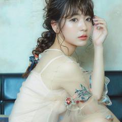 アンニュイほつれヘア 大人かわいい 外国人風 セミロング ヘアスタイルや髪型の写真・画像