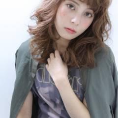 ミディアム ストリート 外国人風 パンク ヘアスタイルや髪型の写真・画像