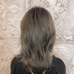 ブリーチオンカラー レイヤースタイル レイヤーヘアー ナチュラル ヘアスタイルや髪型の写真・画像