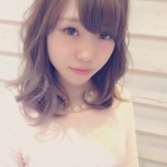ミディアム 大人かわいい コンサバ モテ髪 ヘアスタイルや髪型の写真・画像