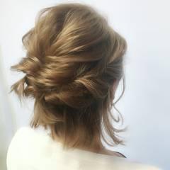ゆるふわ 大人かわいい ヘアアレンジ 愛され ヘアスタイルや髪型の写真・画像