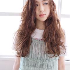 ゆるふわ フェミニン グラデーションカラー 大人かわいい ヘアスタイルや髪型の写真・画像