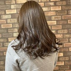 N.オイル セミロング 透明感 イルミナカラー ヘアスタイルや髪型の写真・画像
