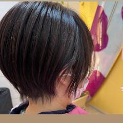 ミニボブ ショートボブ ショートヘア ウルフカット ヘアスタイルや髪型の写真・画像