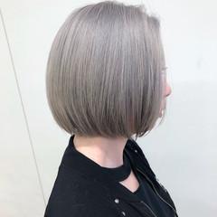 ブリーチ ブリーチカラー モード ショートボブ ヘアスタイルや髪型の写真・画像