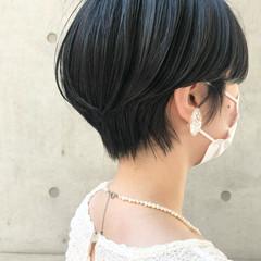 ベリーショート ショート ショートヘア モード ヘアスタイルや髪型の写真・画像