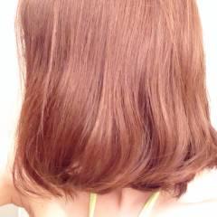 レッド ストリート ブラウンベージュ 外国人風 ヘアスタイルや髪型の写真・画像