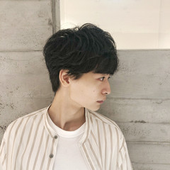 ショートヘア 韓国風ヘアー ナチュラル マッシュヘア ヘアスタイルや髪型の写真・画像