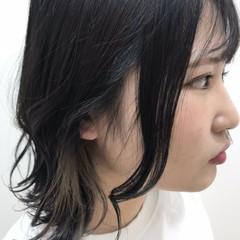 外国人風 モード ボブ 透明感 ヘアスタイルや髪型の写真・画像