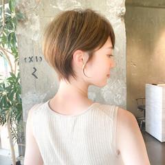 丸みショート 大人ショート ショートカット ショートヘア ヘアスタイルや髪型の写真・画像