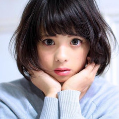 レイヤーカット 暗髪 大人かわいい 黒髪 ヘアスタイルや髪型の写真・画像