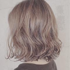 ナチュラル ボブ デジタルパーマ ヘアスタイルや髪型の写真・画像
