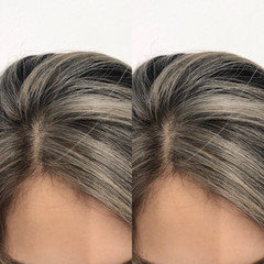 ストリート ホワイトベージュ 外国人風カラー ロング ヘアスタイルや髪型の写真・画像