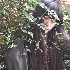 ヘアアレンジ アンニュイ ナチュラル アンニュイほつれヘア ヘアスタイルや髪型の写真・画像