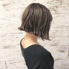 夏 イルミナカラー 似合わせ 涼しげ ヘアスタイルや髪型の写真・画像