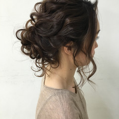 外国人風 大人かわいい ロング ヘアアレンジ ヘアスタイルや髪型の写真・画像