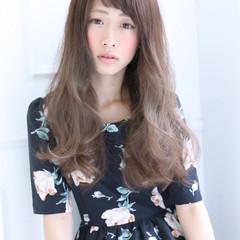 ストリート ロング 抜け感 フェミニン ヘアスタイルや髪型の写真・画像