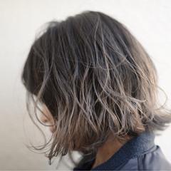 3Dカラー 外国人風 色気 ストリート ヘアスタイルや髪型の写真・画像