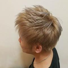 ショート ストリート イルミナカラー 外国人風カラー ヘアスタイルや髪型の写真・画像