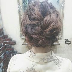 大人かわいい ヘアアレンジ 波ウェーブ ゆるふわ ヘアスタイルや髪型の写真・画像
