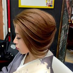 ヘアアレンジ 外国人風 アップスタイル 着物 ヘアスタイルや髪型の写真・画像