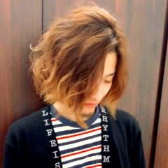 ストリート ボーイッシュ 外国人風 パーマ ヘアスタイルや髪型の写真・画像