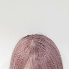 ヘアカラー ガーリー ボブ ミニボブ ヘアスタイルや髪型の写真・画像