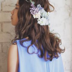 ショート セミロング 簡単ヘアアレンジ 外国人風 ヘアスタイルや髪型の写真・画像