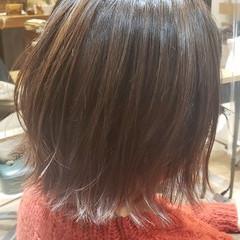 ガーリー ショートヘア 切りっぱなしボブ ボブ ヘアスタイルや髪型の写真・画像