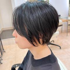 ショートボブ ショート ショートヘア 大人ショート ヘアスタイルや髪型の写真・画像