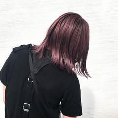 ブリーチ ダブルカラー モード ハイトーン ヘアスタイルや髪型の写真・画像