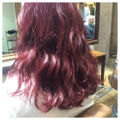 ガーリー ゆるふわ 外国人風 ピンク ヘアスタイルや髪型の写真・画像