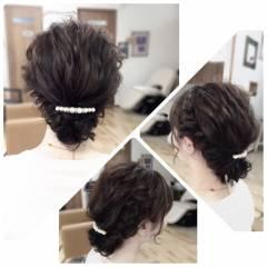 ヘアアレンジ ロング アップスタイル ナチュラル ヘアスタイルや髪型の写真・画像