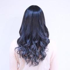 透明感 ロング グラデーションカラー 外国人風 ヘアスタイルや髪型の写真・画像