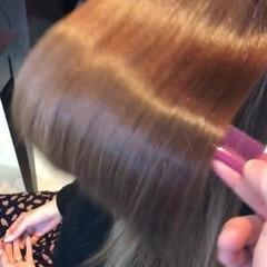 横顔美人 ヘアケア トリートメント ロング ヘアスタイルや髪型の写真・画像