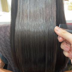 艶カラー 髪質改善トリートメント ロング 艶髪 ヘアスタイルや髪型の写真・画像