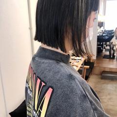 切りっぱなしボブ ショートボブ ミニボブ ショートヘア ヘアスタイルや髪型の写真・画像
