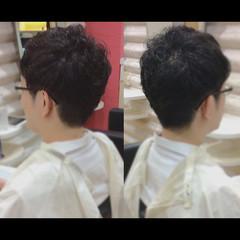 ナチュラル メンズスタイル メンズショート ショート ヘアスタイルや髪型の写真・画像
