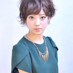 ピュア ショート 大人かわいい かわいい ヘアスタイルや髪型の写真・画像