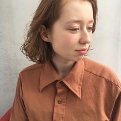 モテボブ ナチュラル 簡単ヘアアレンジ ボブ ヘアスタイルや髪型の写真・画像