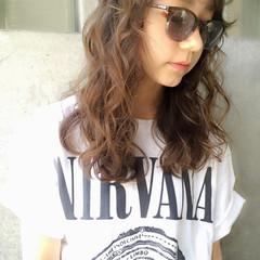 ハイライト グラデーションカラー アッシュ 外国人風 ヘアスタイルや髪型の写真・画像
